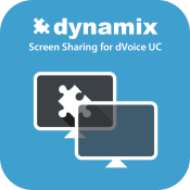 Screen sharing app button