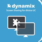Screen sharing app button