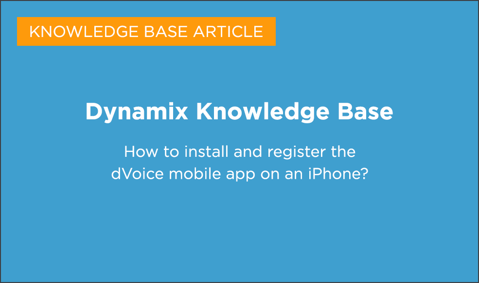 Dynamix Knowledge Base